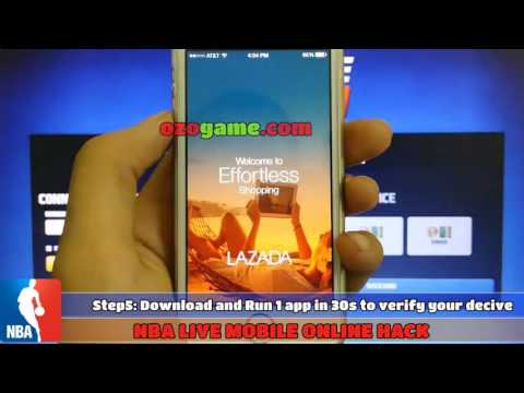 Paano NBA live mobile hack in philippines | NBA live mobile free download