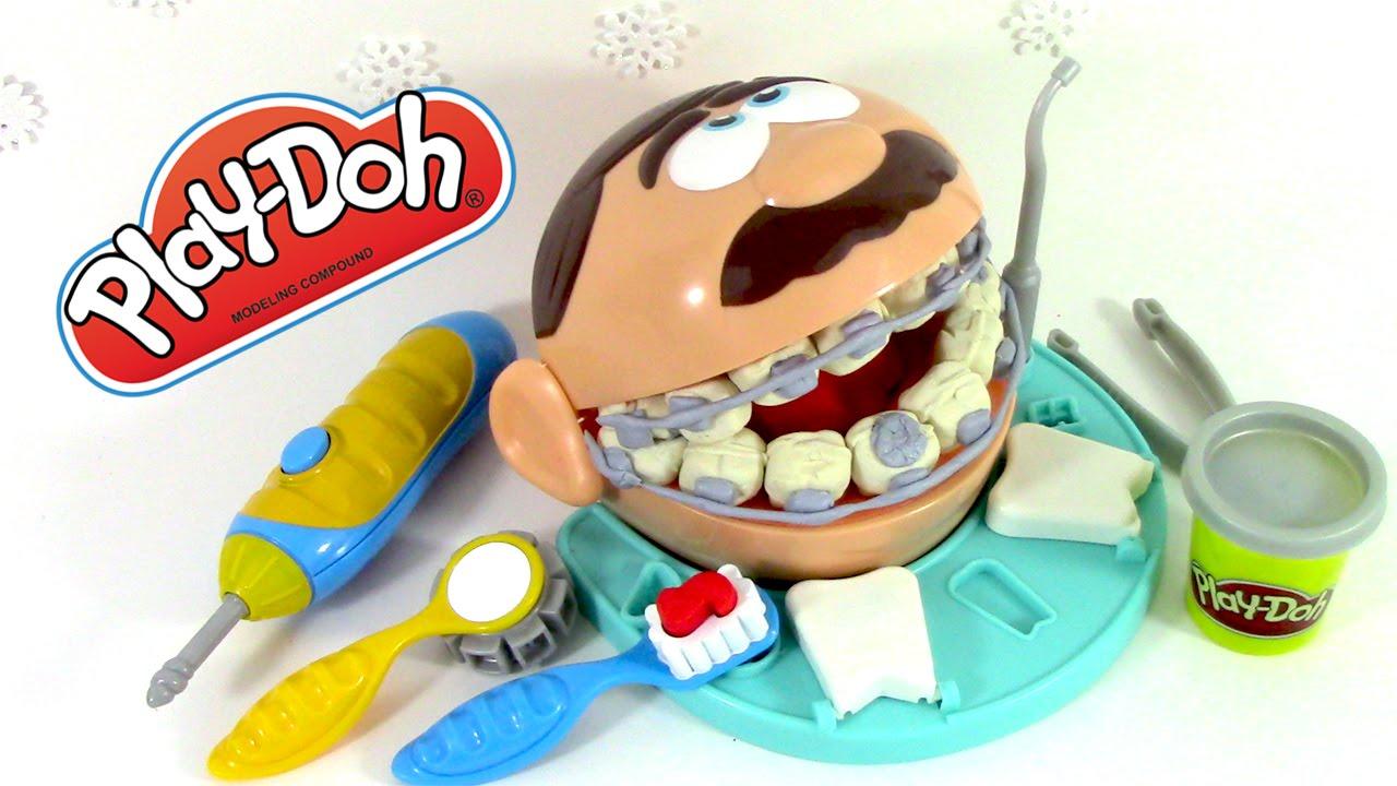 p 226 te 224 modeler le dentiste play doh dr drill n fill el