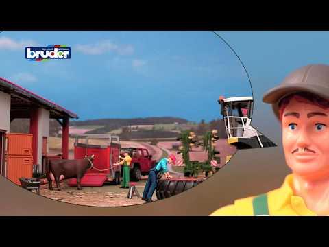 Bruder Toys Farmer W/ Accessories - #62610