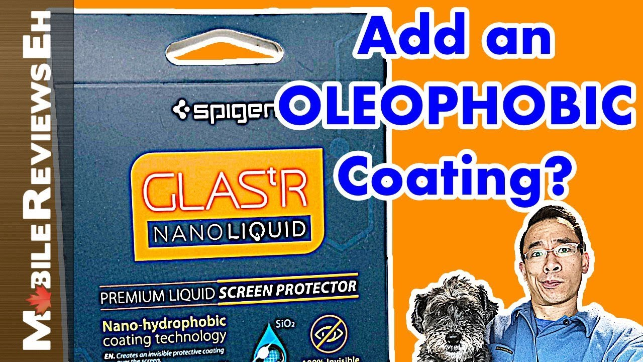 purchase cheap a1710 daaf9 Spigen GLAStR Nano Liquid Review - Liquid Screen Protector for smartphones,  watches and tablets