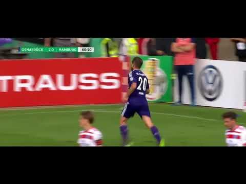 Osnabrueck 3 – 1 Hamburg  Highlights (14/8/2017)