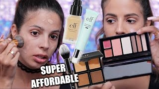 NEW ELF MAKEUP First Impressions | HIT OR MISS?