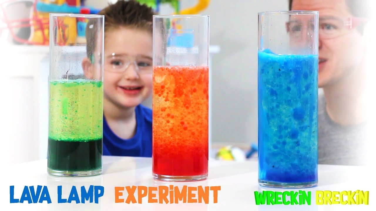 Lava Lamp Science Experiment Kids Science Experiments Science