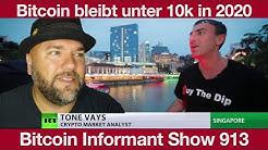 #913 Bitcoin wird 2020 nicht 10 000 Dollar knacken, Peter Schiff vs Max Keiser & McAfee Ghost Coin