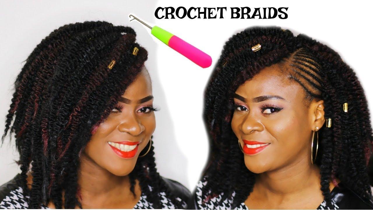Crochet Braids Kinky Twist Marley By Sleek Youtube