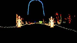 Experience Pettit Creek Farms Christmas Lights - Cartersville, GA - POV