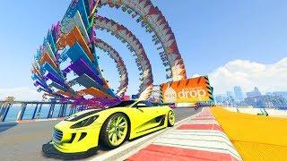 FINAL SUPER EPICO!! CON 30 PERSONAS!!! - CARRERA GTA V ONLINE - GTA 5 ONLINE