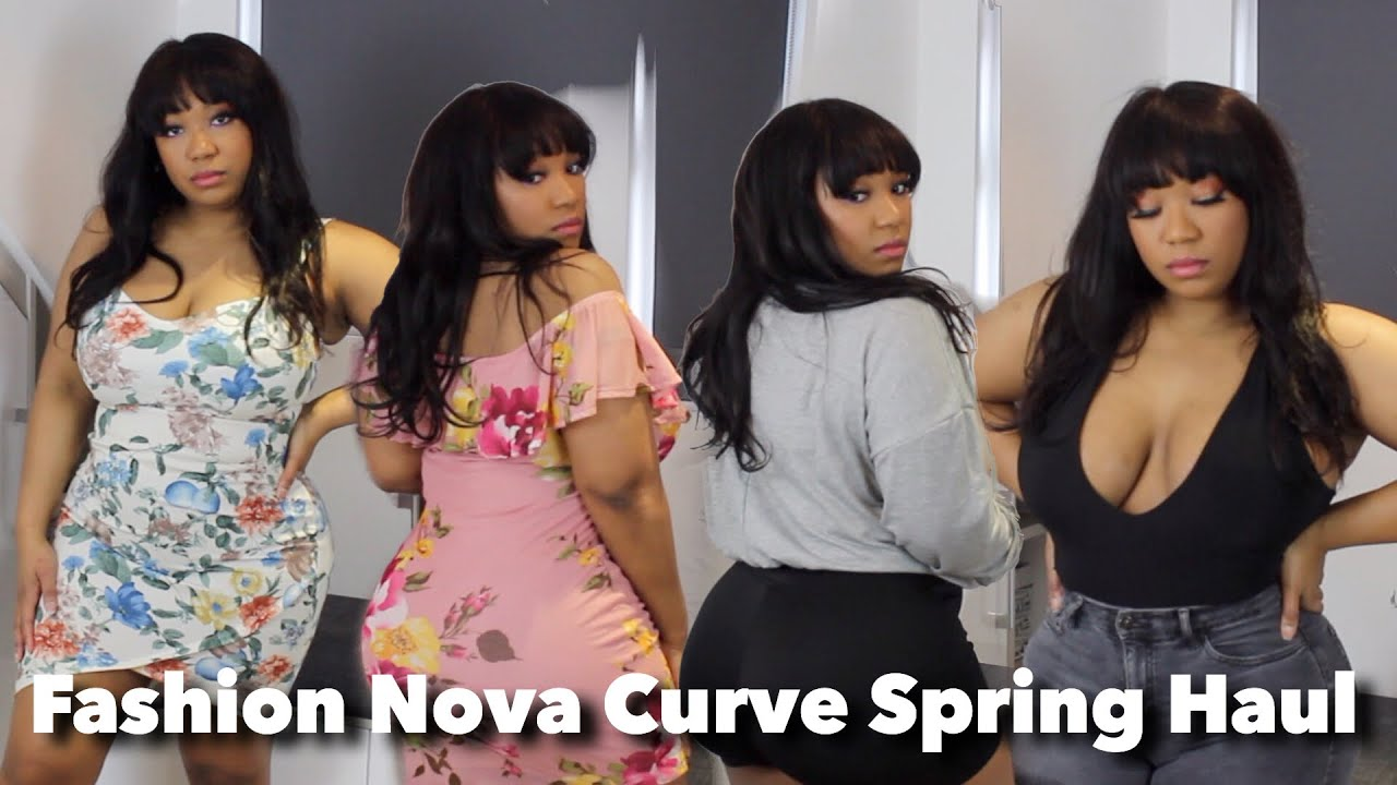 a7c158f7e07 Spring has Sprung Fashion Nova Curve Try On Haul - YouTube