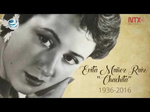 """Evita Muñoz """"Chachita"""" deja huella en la TV y el cine mexicano"""
