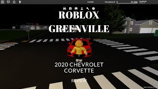 Roblox Greenville 2020 Chevrolet Corvette Review