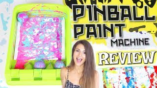 PINBALL PAINT MACHINE - Demo & Review - SoCraftastic