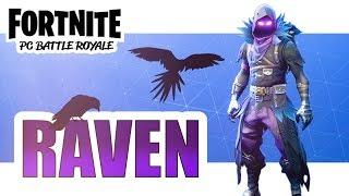 FORTNITE | Ekoja pelejä Raven skinillä! (Suomi)