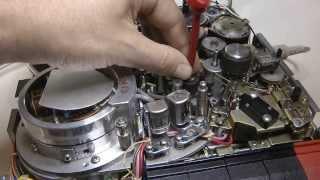 Akai VT-120 series Belt replacement and test run