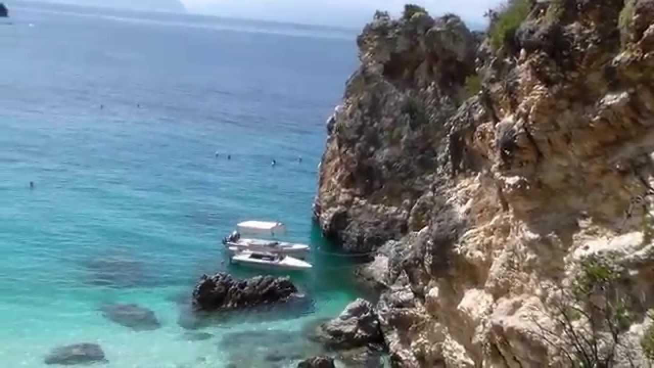 Пляжи Греции. Где лучше отдохнуть. Пляжи на островах Tassos, Levkas