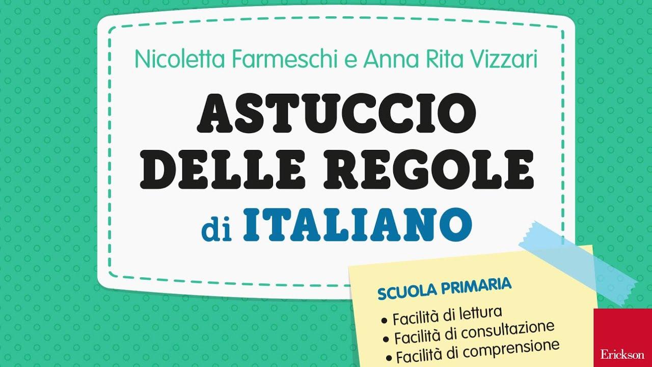 spesso L'Astuccio delle regole di italiano - YouTube SX46