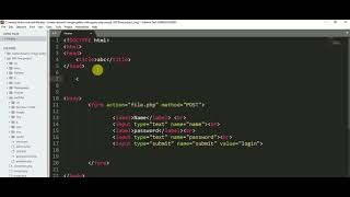 How to insert data in mysql using php and html form (hindi/urdu) Mp3