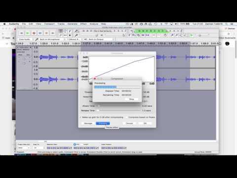 Audio Documentary Editing with Audacity
