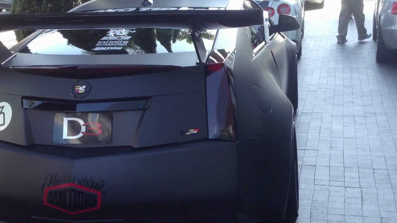 Cadillac CTS-V Wide body supercharged Bull Run edition ...