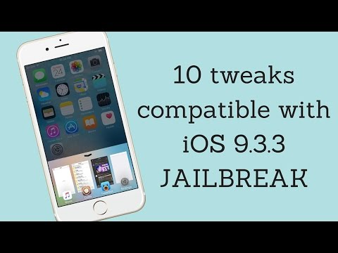 10 best cydia tweaks compatible with iOS 9.3.3 JAILBREAK