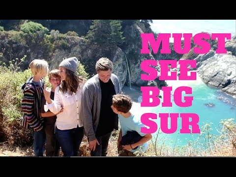 MUST SEE SPOTS AT BIG SUR CALIFORNIA [a day on the road with