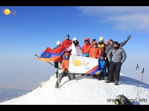 Mount Ararat Climb with Arevi 2014