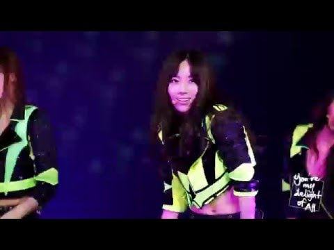 [HD] [FANCAM] SNSD (소녀시대) Taeyeon (태연) - Flower Power @ Cotton Candy DVD -You're my delight of All-