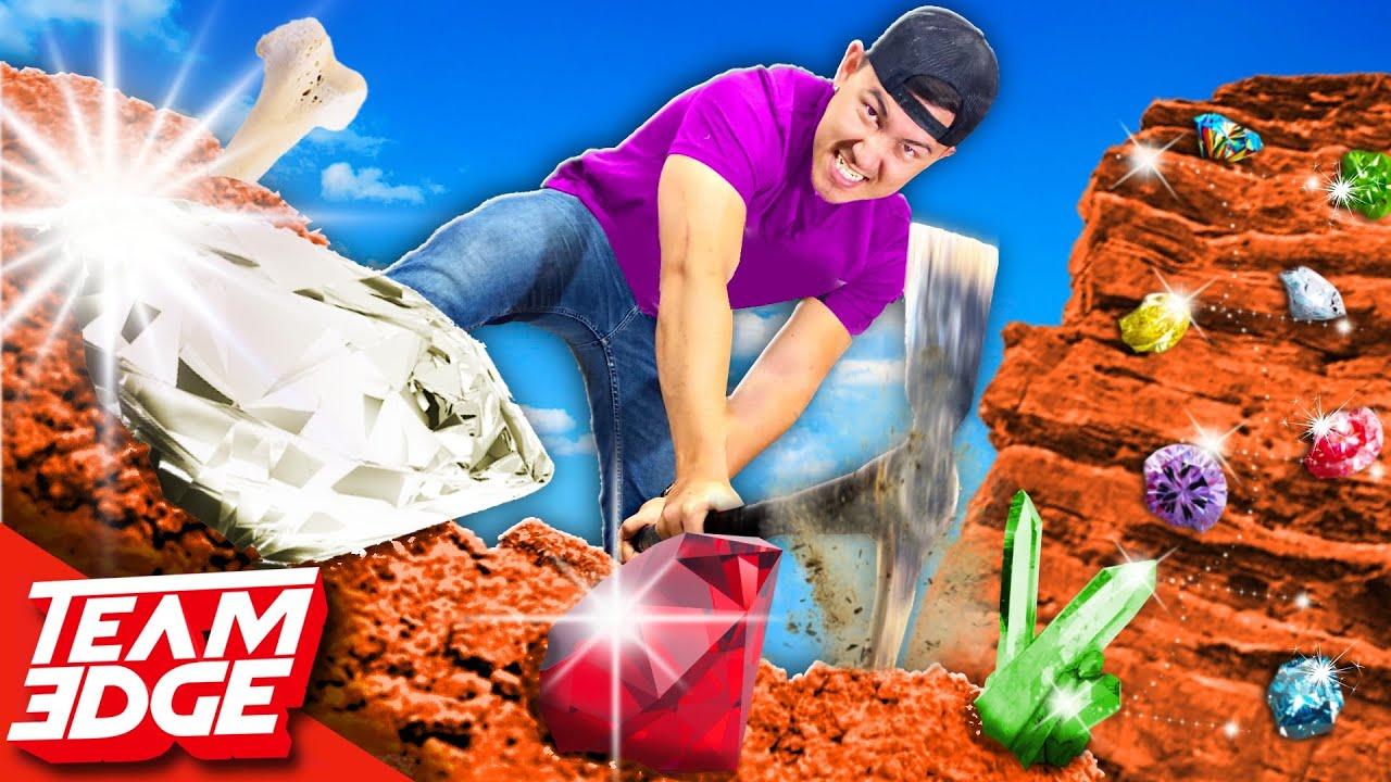 MINECRAFT Diamond Mining Challenge!
