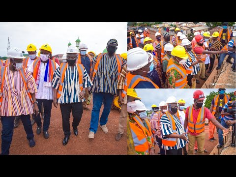Dr. Bawumia Inspects First Ever Tamale Interchange In Northern Ghana
