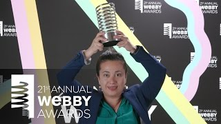 HBO's 5-Word Speech at the 21st Annual Webby Awards