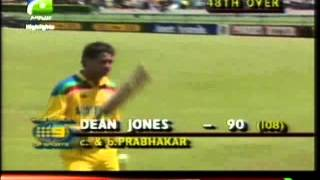 India vs Australia World Cup 1992 HQ Extended Highlights