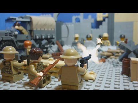 Lego WW2 - Battle of Hong Kong - with Sergeant Major John Osborn
