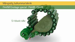 John Deere | Fixed Chamber Balers Animation