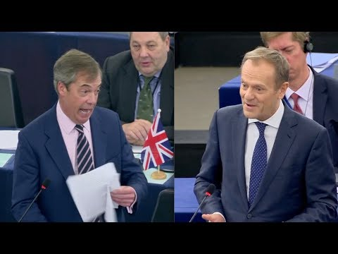 BREXIT: Nigel Farage attacks