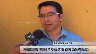 MINISTERIO DE TRABAJO YA POSEE DATOS SOBRE DISCAPACITADOS