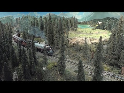 This model train layout may be bigger than your house – KING 5 Evening