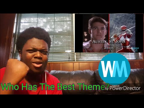 Top 10 Power Rangers Theme Songs Reaction Watchmojo