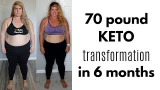 KETO WEIGHT LOSS │Week 26 and Month 6 │ Keto Transformation Pics │ How I lost 70 pounds in 6 months!