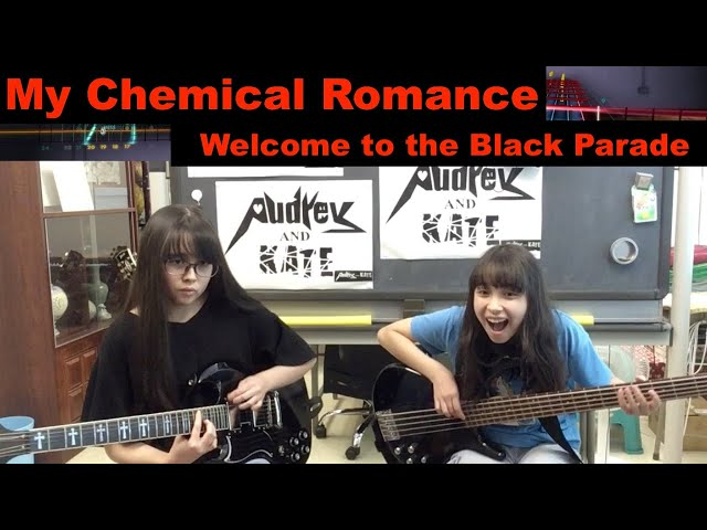 #Rocksmith - My Chemical Romance - Welcome to the Black Parade - lefty guitar + bass #mcr