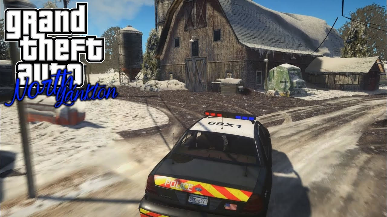 GTA IV Map Mod North Yankton from GTA V YouTube