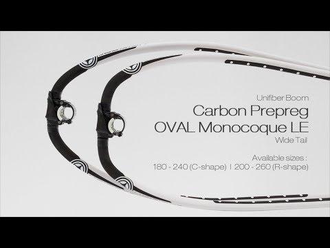 Unifiber Windsurfing Boom Carbon PP OVAL Monocoque LE