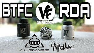 BTFC RDA By Augvape & VapnFagan - Build & Wick - Mike Vapes