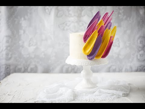 How To Make A Brushstroke Cake