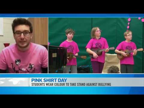 Travis Price - Co Founder of Pink Shirt Day - YouTube