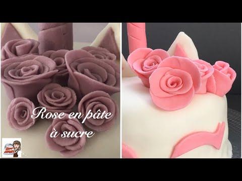 🌷comment-réaliser-des-roses-en-pâte-à-sucre-🌹