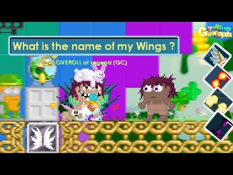 Giving My Fans A Pair of Wings at Blarney | St.Patrick Growtopia
