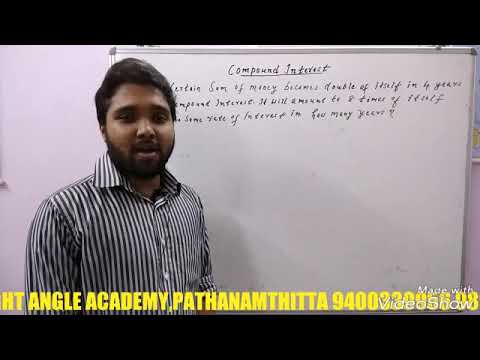 Tricks on Compound Interest(Right Angle Academy,Pathanamthitta)
