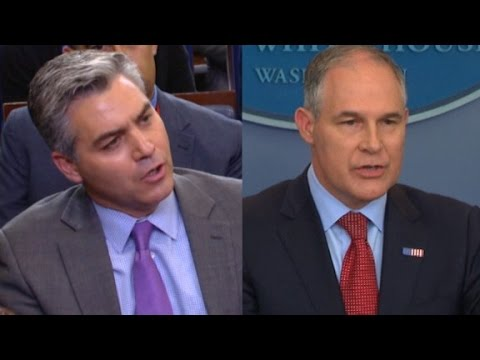 Acosta to EPA chief: Your head is in the sand