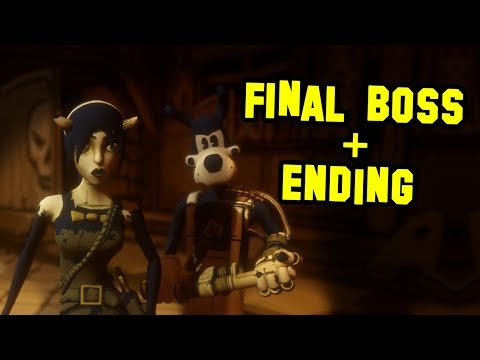 BENDY AND THE INK MACHINE CHAPTER 4 FINAL BOSS + ENDING