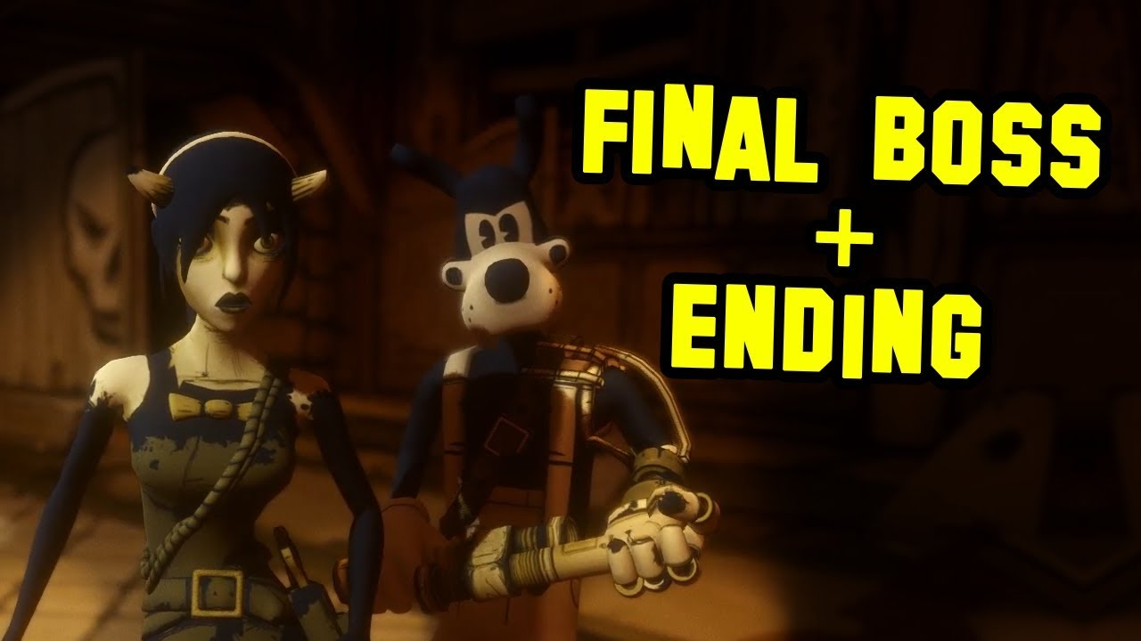 BENDY AND THE INK MACHINE CHAPTER 4 FINAL BOSS + ENDING ...