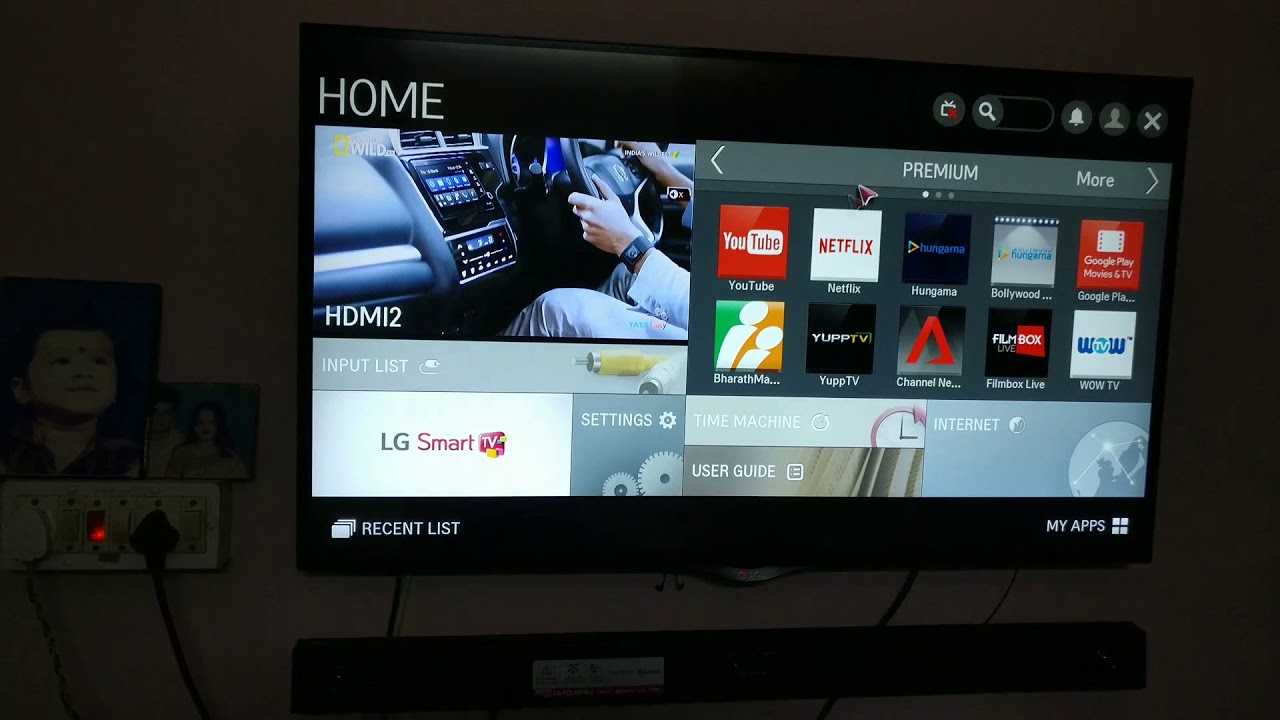 How to Connect LG Sound bar SJ3 to your led tv - YouTube